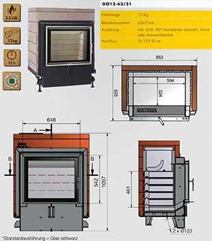 Ortner AT - Camere di combustione tecnologiche e dall'alto rendimento 1