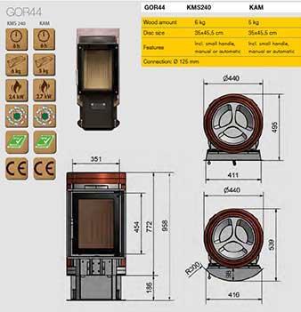 Ortner AT - Camere di combustione tecnologiche e dall'alto rendimento 3