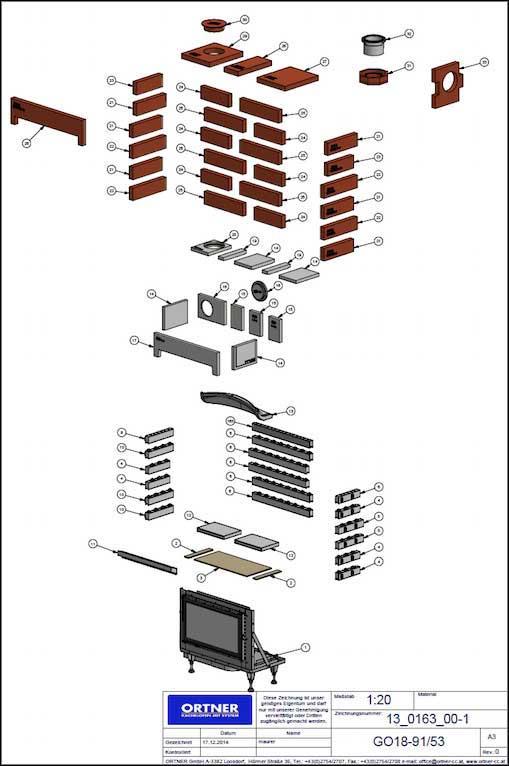 Ortner AT - Camere di combustione tecnologiche e dall'alto rendimento - esempio 1