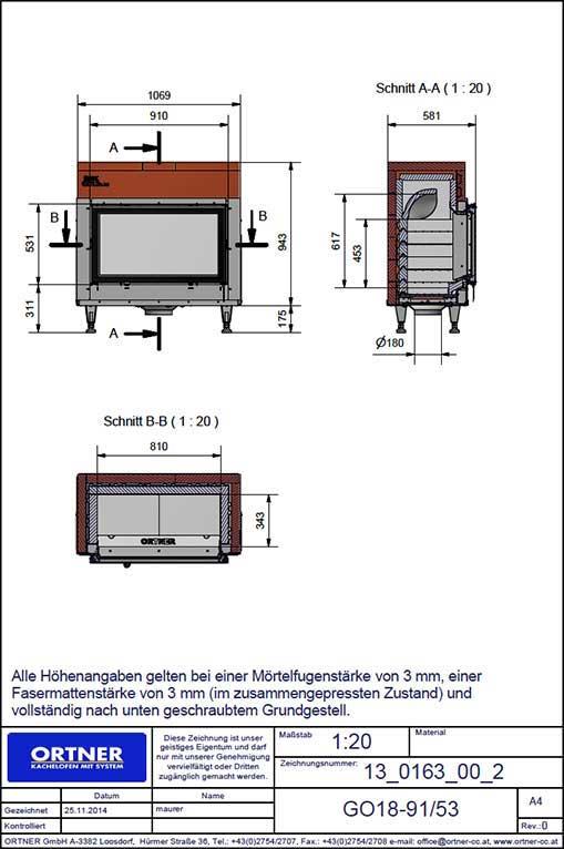 Ortner AT - Camere di combustione tecnologiche e dall'alto rendimento - esempio 2